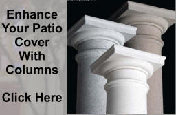 Enhance Your Patio Cover With Columns  Click Here